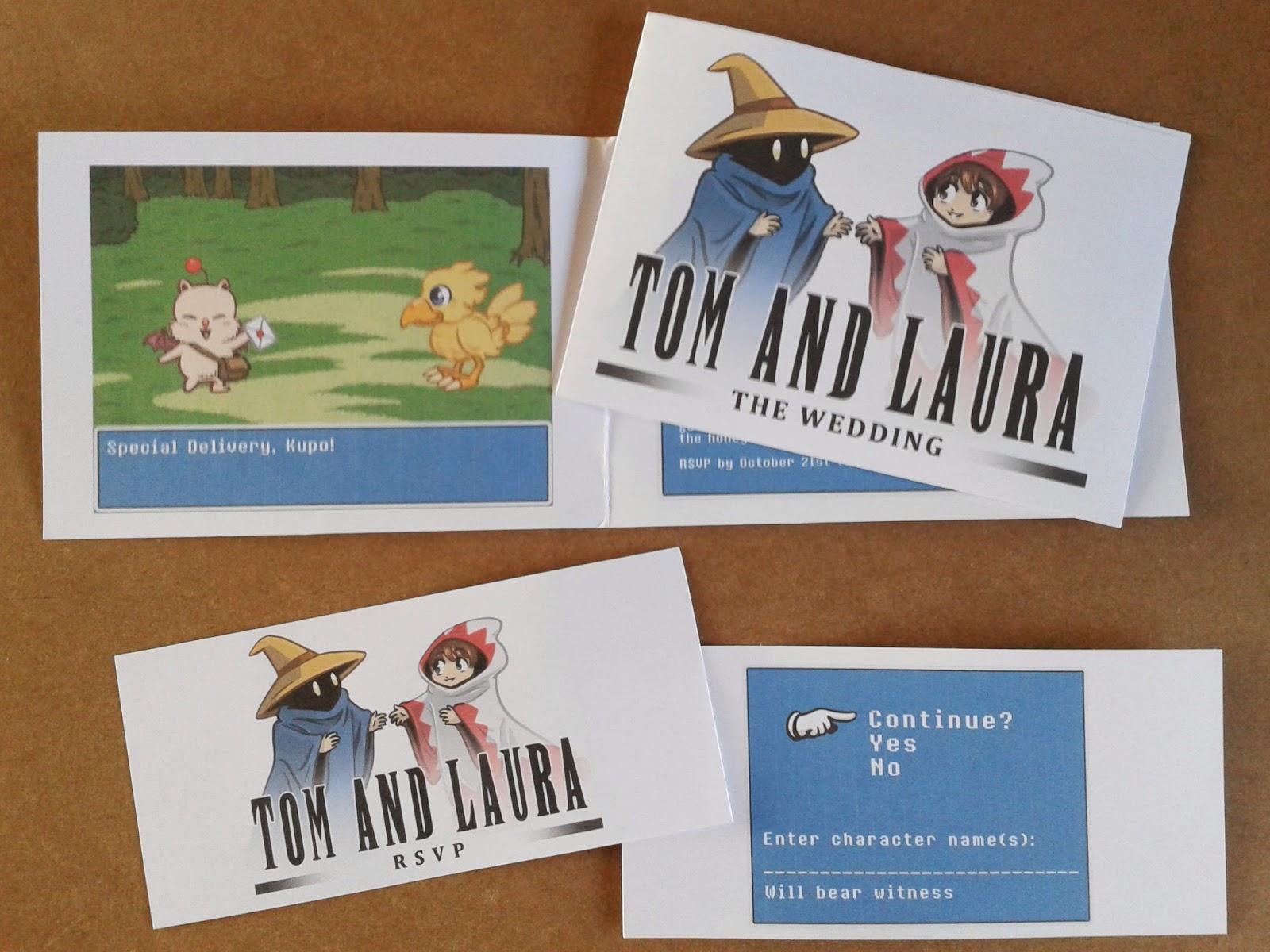 Sammy Borras Comics And Illustration Final Fantasy Wedding