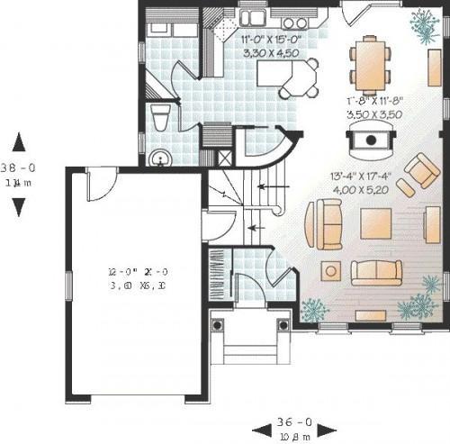 Planos de casas modelos y dise os de casas hacer plano - Hacer plano casa ...