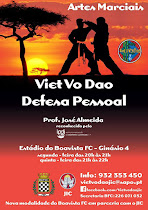 VEM PRATICAR, VIET VO DAO, NO BOAVISTA FUTEBOL CLUBE