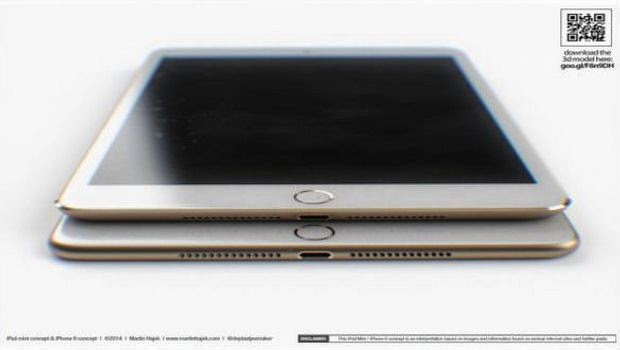 Tablet Mini Buatan Apple Hadir Akhir Tahun 2014