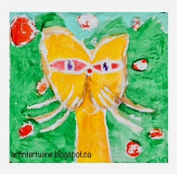Paul Klee Cat and Bird Art Activity For Kids