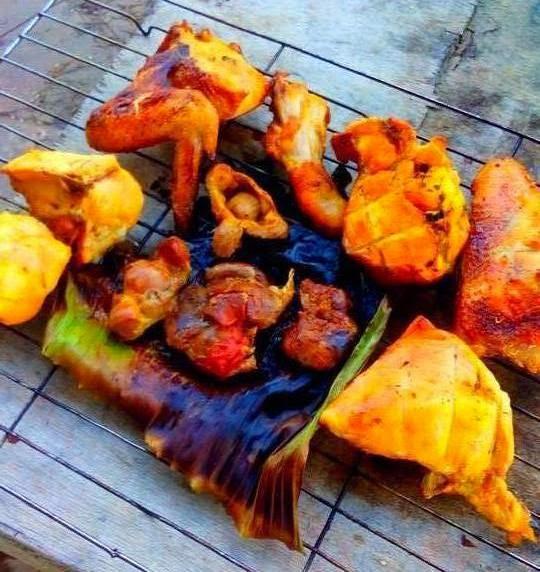 Ayam Bakar Panas