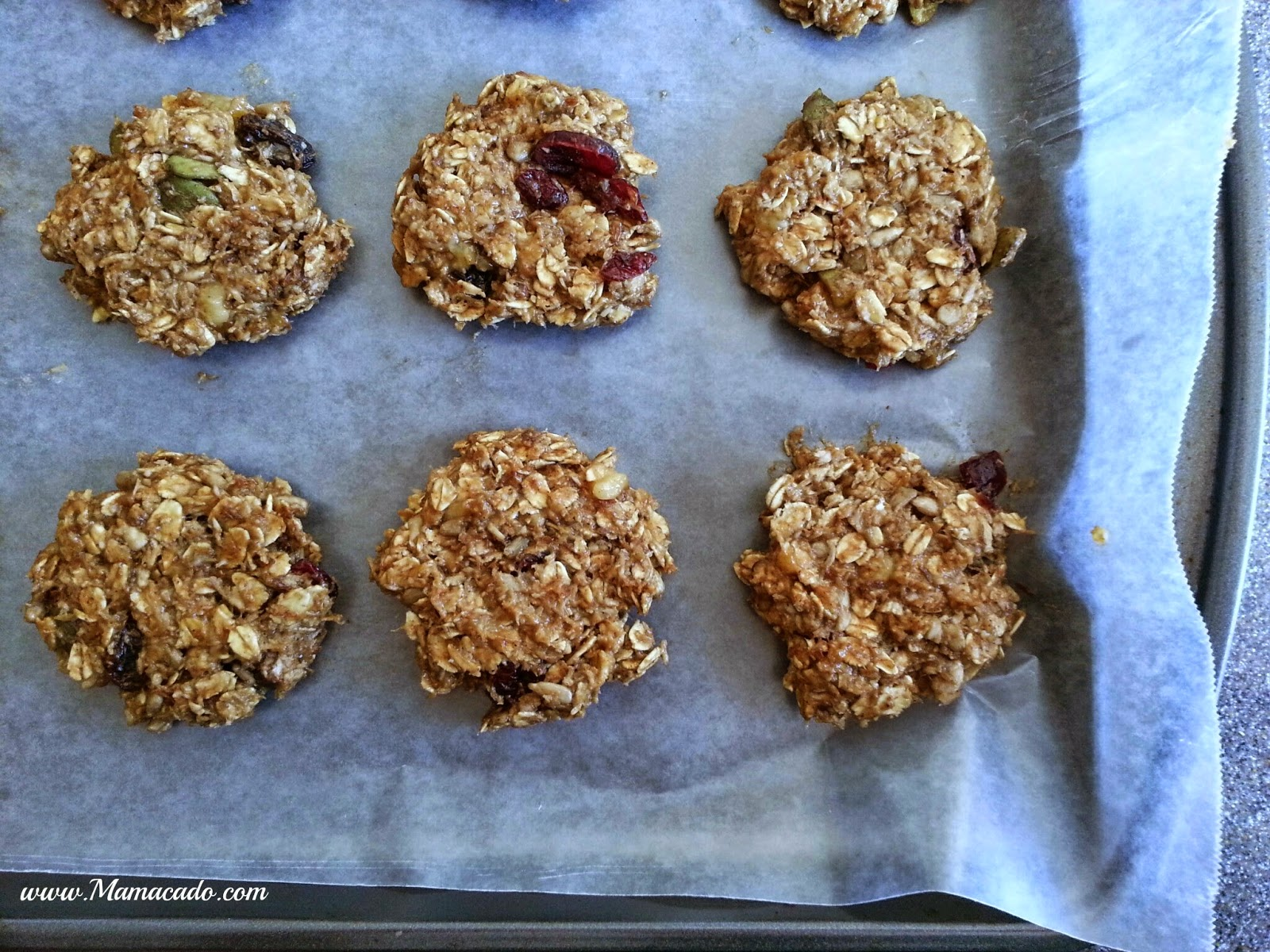 Easy SunButter Breakfast Cookies