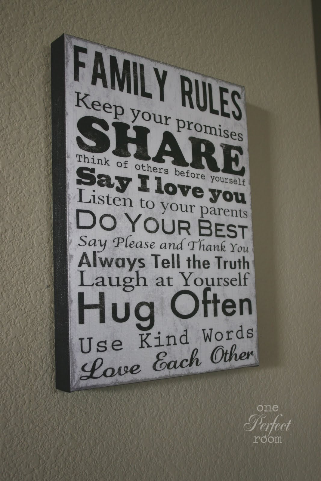 family rules You are here: home / family life / 2 simple family rules to improve  before  about simple tips your family can implement to put your child on.