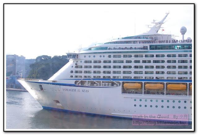 亞洲最大艘的船 - 海洋航行者號啟航
