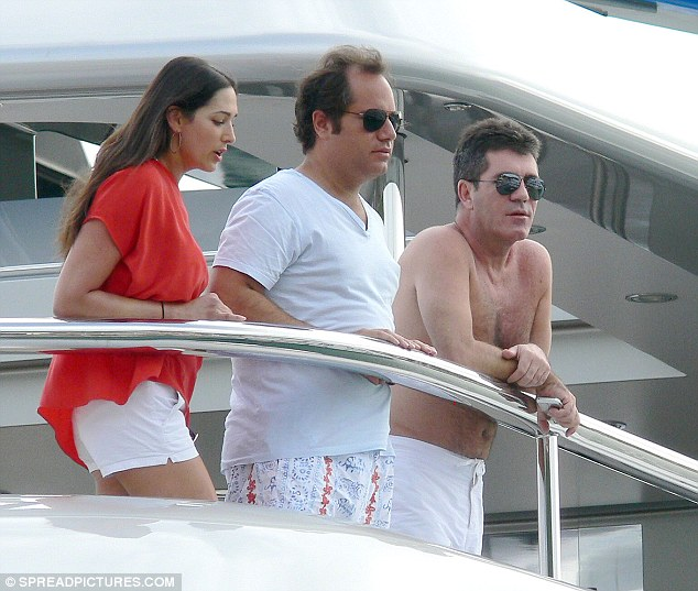 simon cowell gets best friends wife pregnant