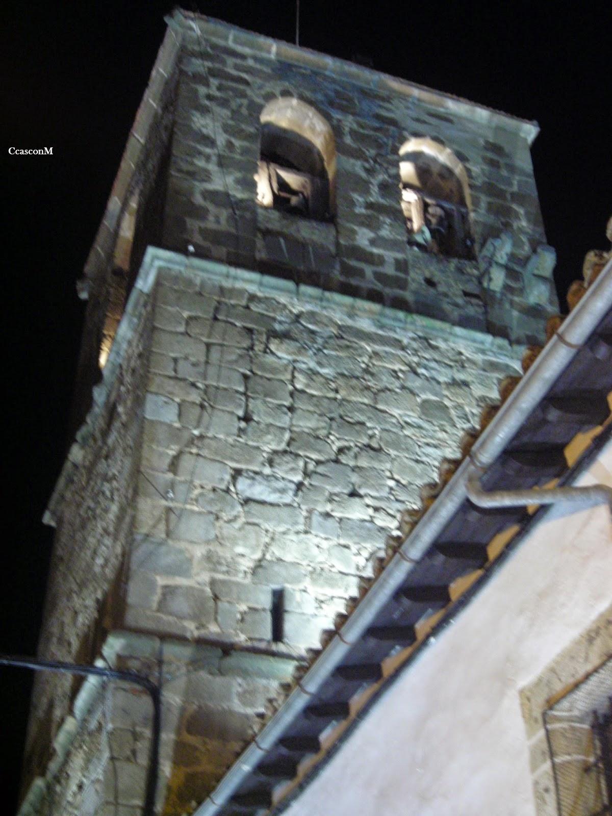 Torre de la iglesia de Candelario Salamanca