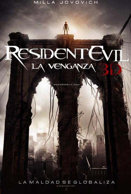 Resident Evil 5 Venganza DVDRip Subtitulos Español Latino Película 2012