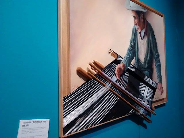 """Diseños tradicionales en """"El rebozo. Made in Mexico"""" del Museo Franz Mayer"""