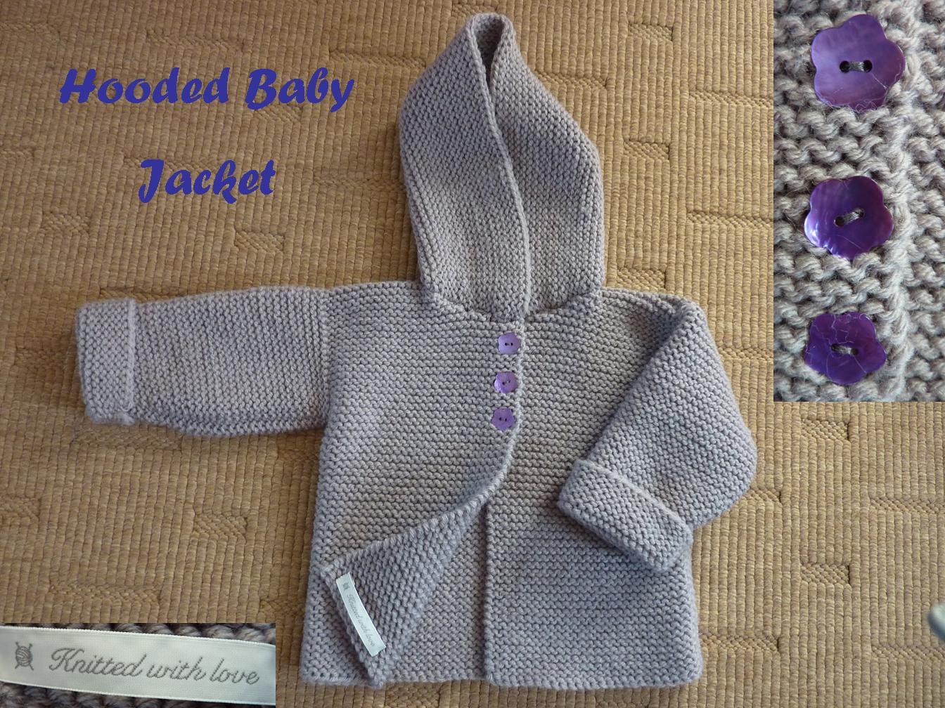 Knitting Pattern Hooded Sweater - Cashmere Sweater England