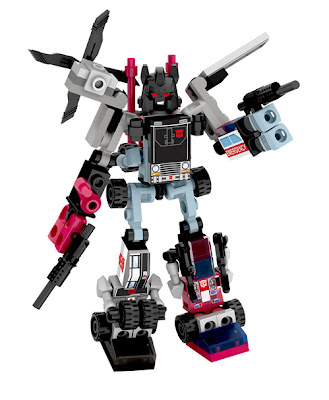 Hasbro Transformers Kre-O Micro Changers Combiners Series 2 - Defensor (Protectobots)