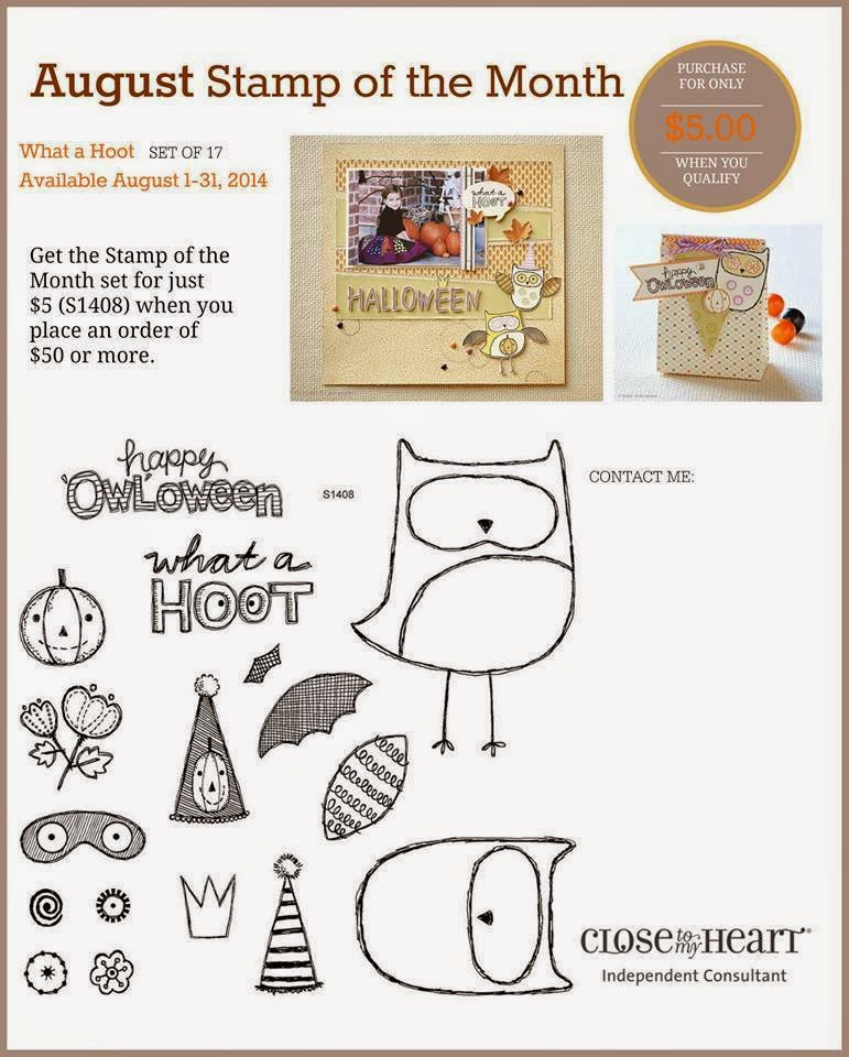 Adorable Owls CTMH Stamp Set
