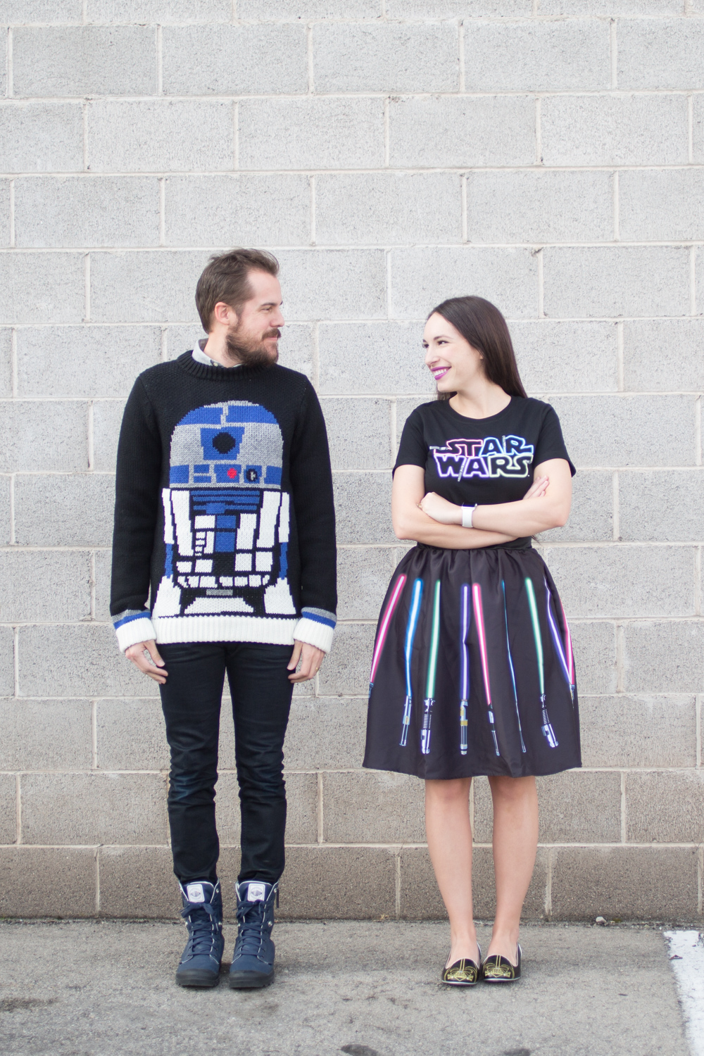 His and Her cute Star Wars Outfit