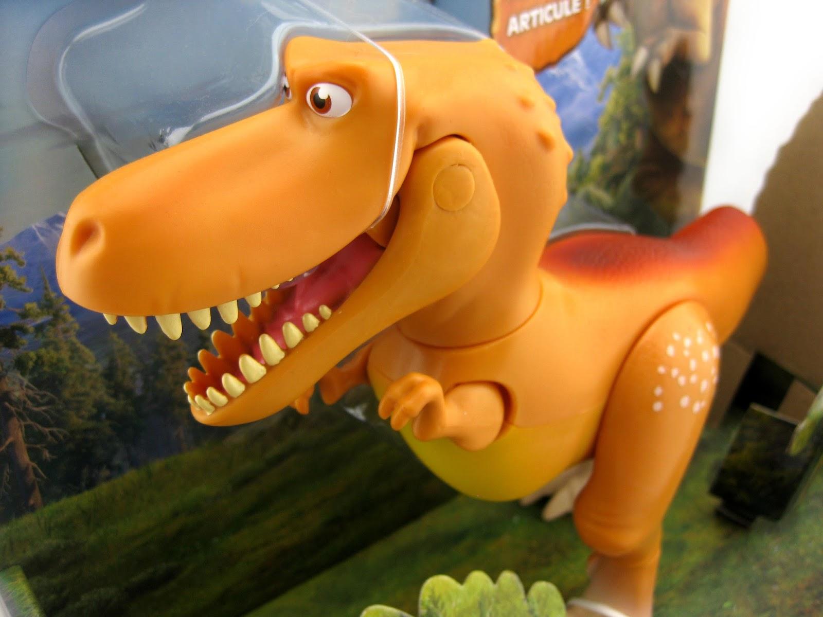 dan the pixar fan the good dinosaur tomy action figures part