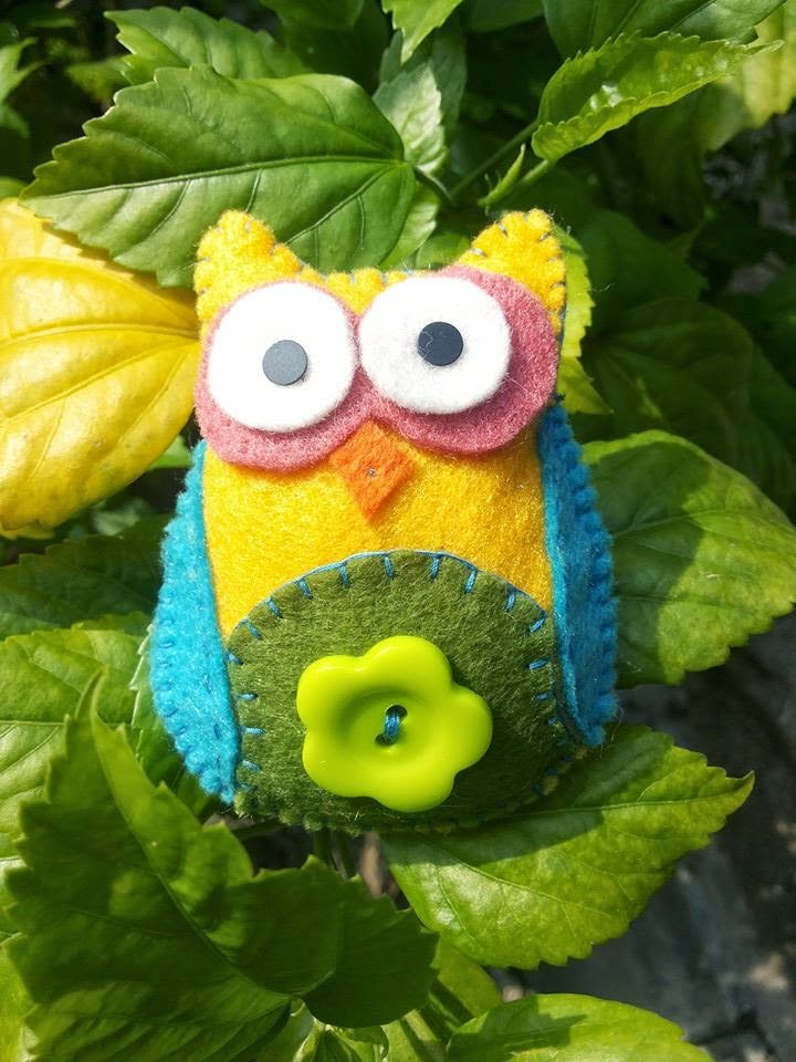 BROOCH OWLIE