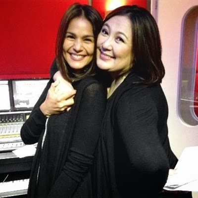 Past and present The Biggest Loser Pinoy Edition hosts: Sharon Cuneta with Iza Calzado
