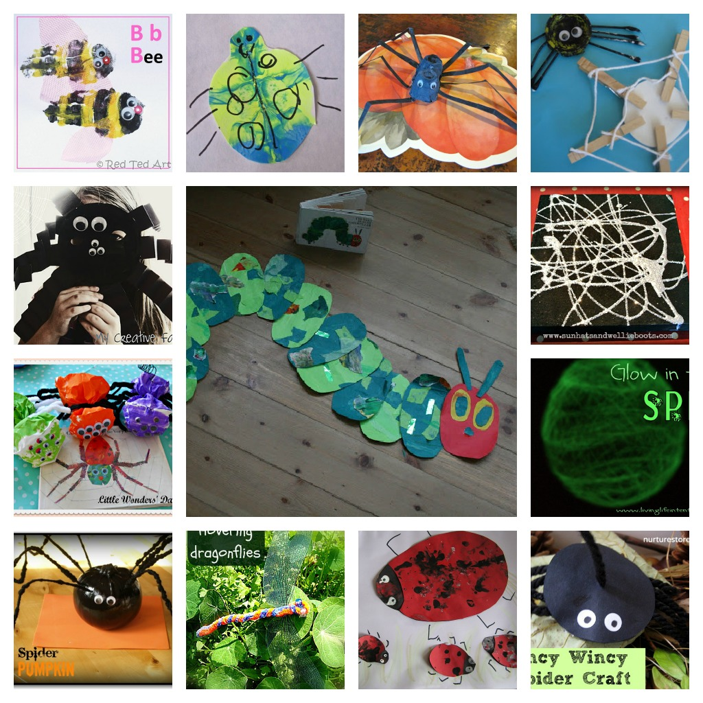 50 activities for playing and learning with insects the for Bugs arts and crafts