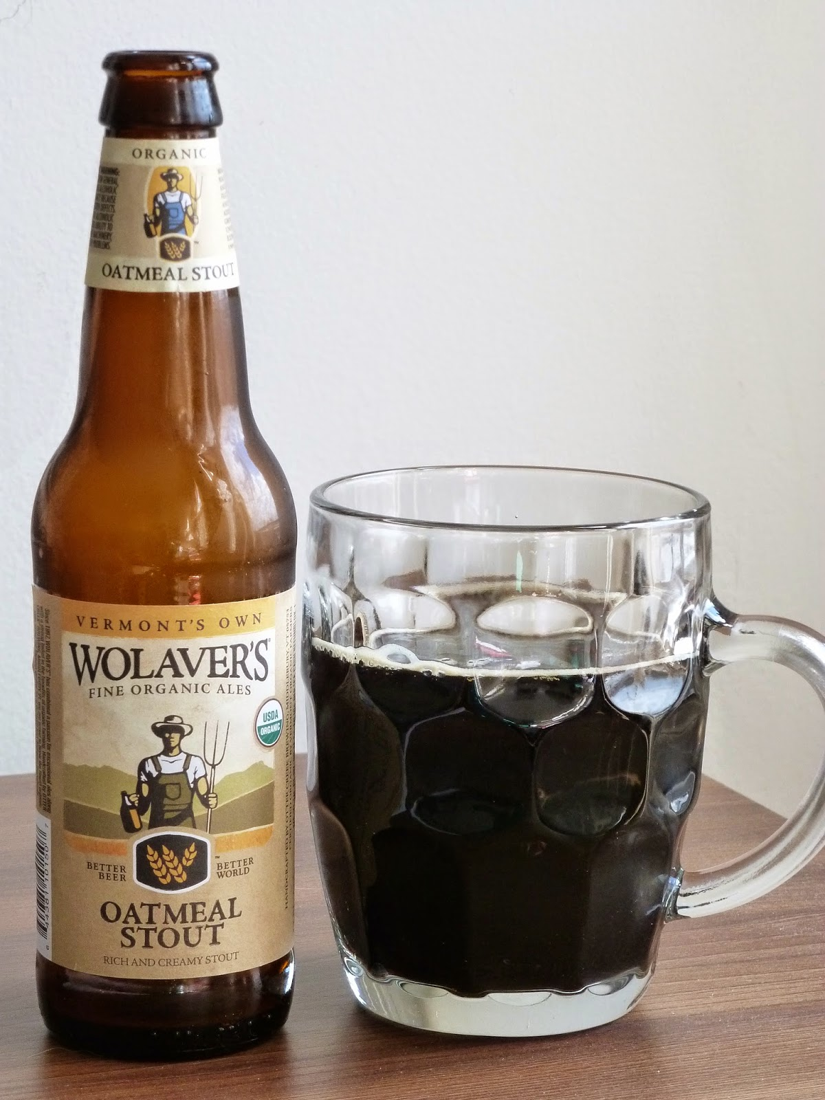 Brewery: Wolaver's/Otter Creek Brewing Beer: Oatmeal Stout | Beer Advocate Score: 88 Abv: 5.4%