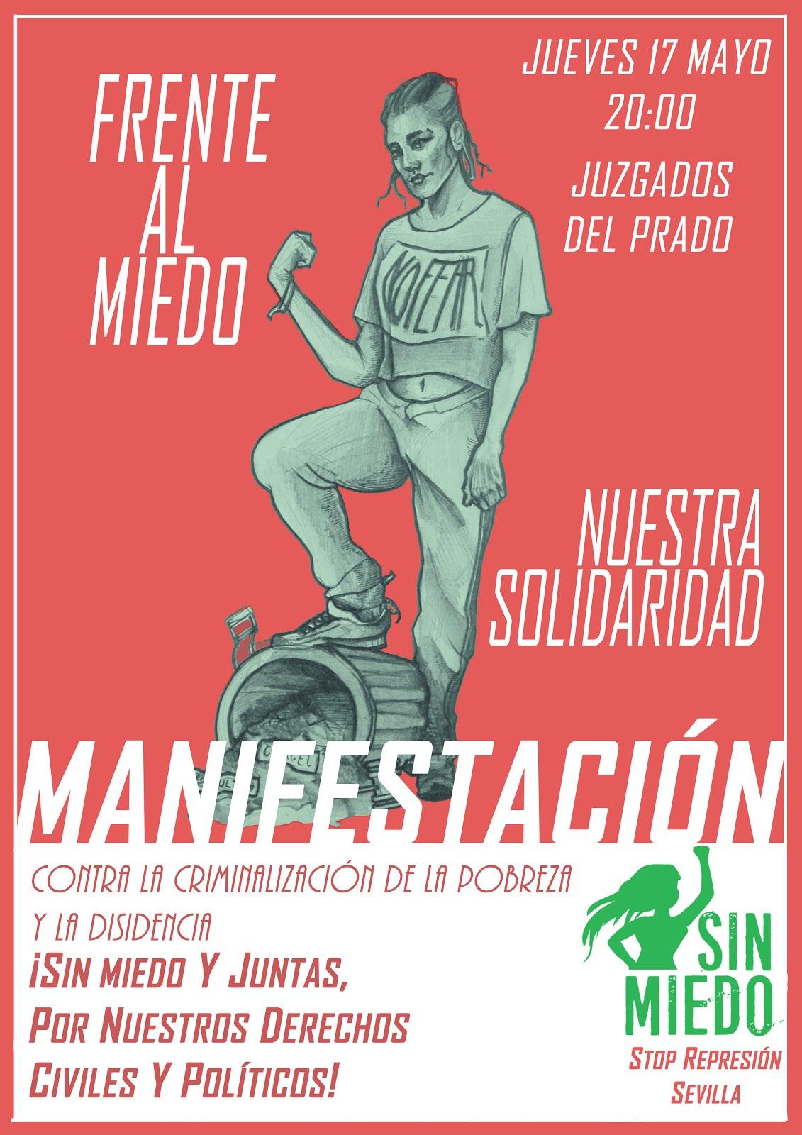MANIFESTACIÓN: FRENTE AL MIEDO, NUESTRA SOLIDARIDAD
