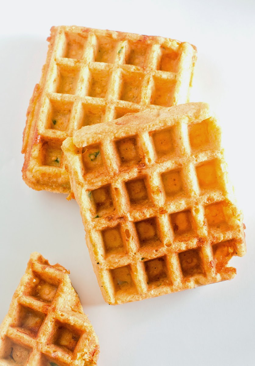The Chubby Vegetarian: Gluten-Free Cornbread Waffles