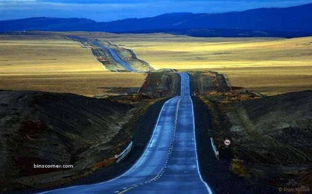beautiful roads in the world