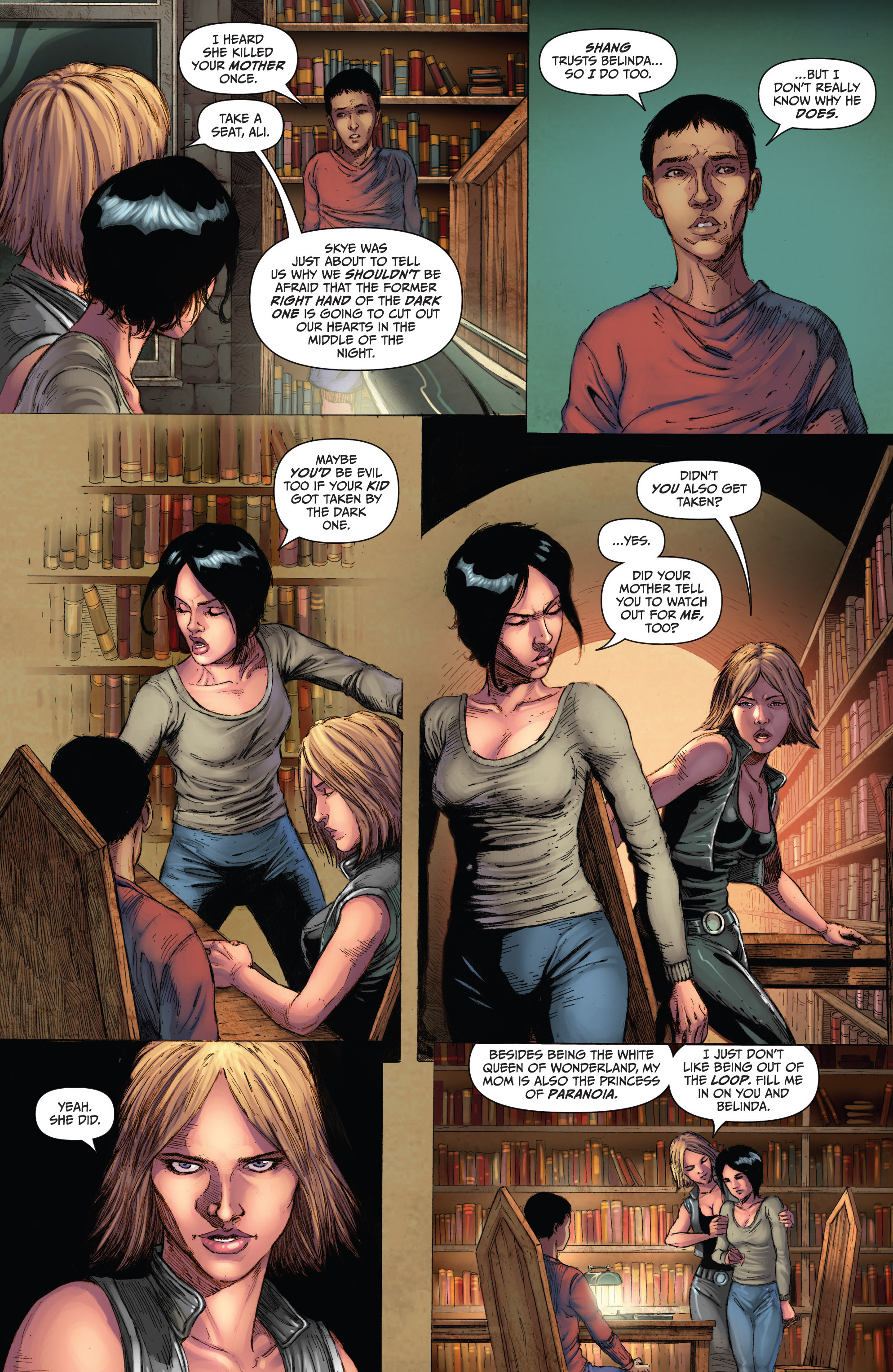 Grimm Fairy Tales (2005) Issue #103 #106 - English 12