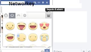 Facebook Adesivi Free