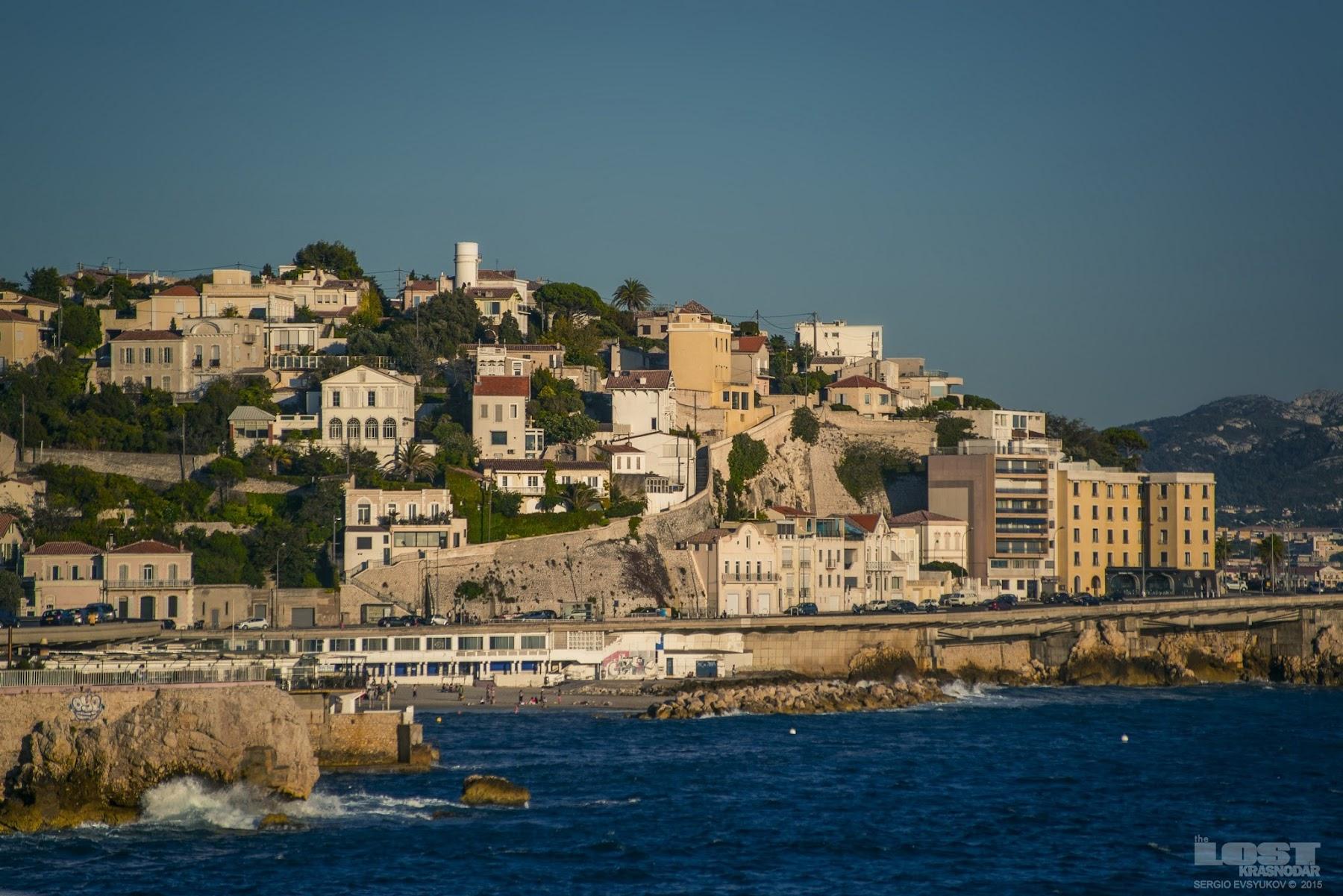 Отдых в Марселе