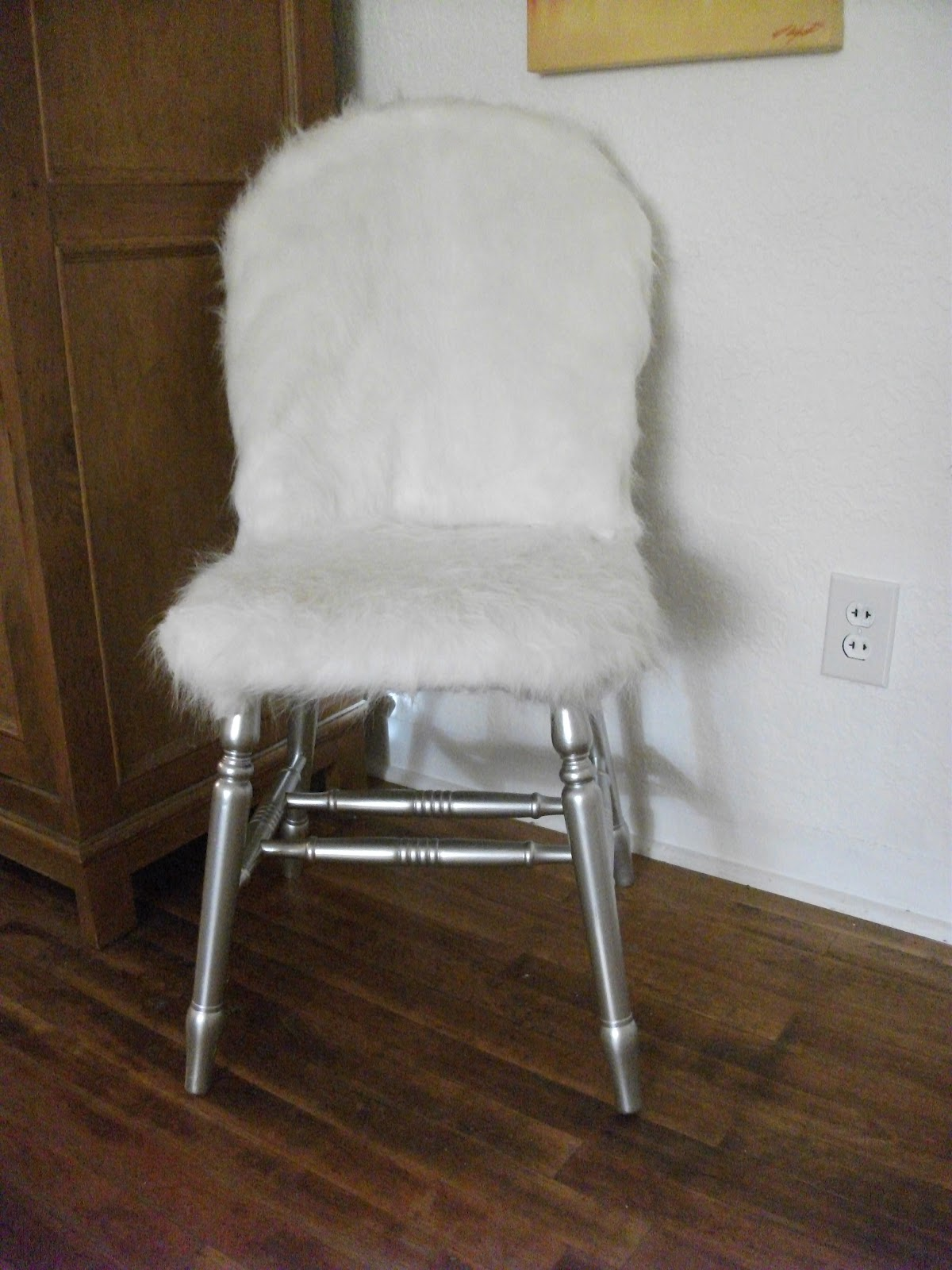 Personality Is Preferred Fur Desk Chair