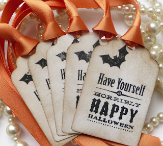 Ma Bicyclette: Buy Handmade | A Folksy Halloween - Gift Tags
