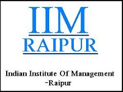 IIM Raipur Executive Fellow Program in Management 2013