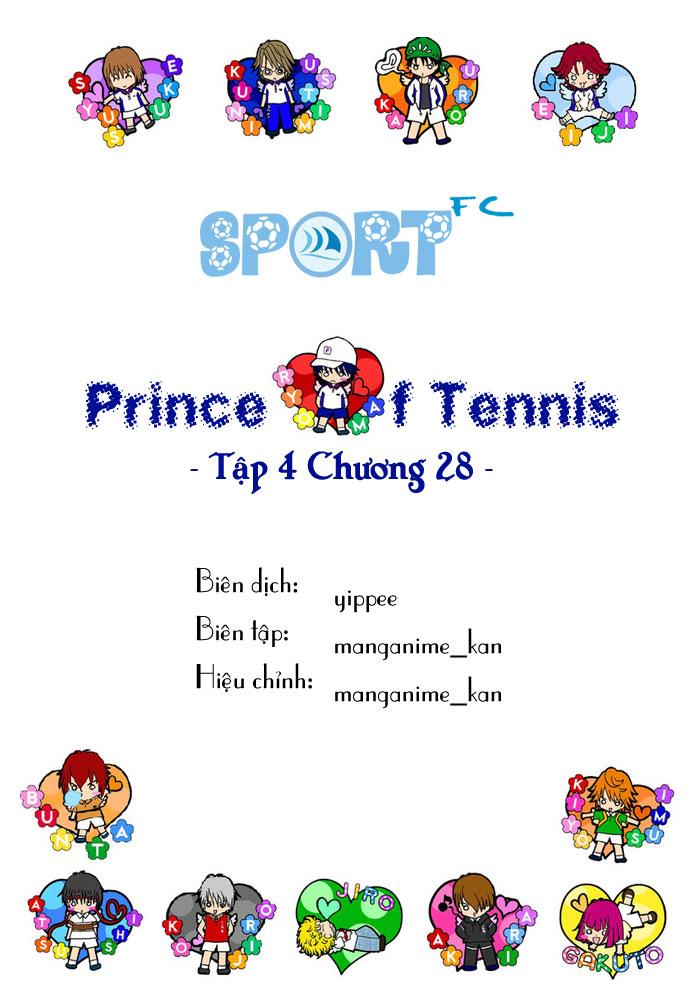 Prince of Tennis chap 28 Trang 1