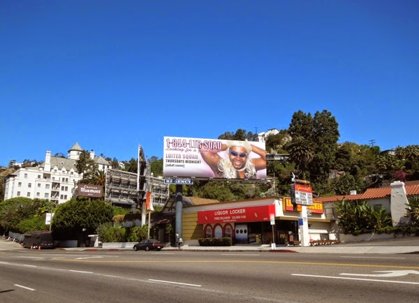 Loiter Squad season 3 billboard sunset strip