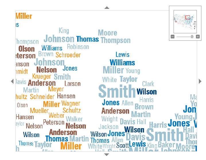 Mapping Michigans Last Names