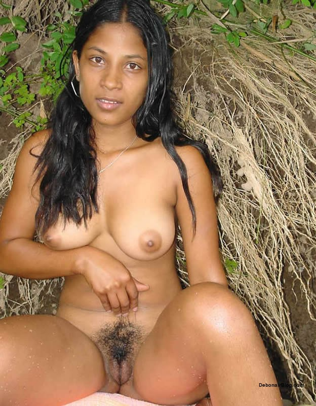 Younger Hairy Pussy Girl Spreading And Showing Her