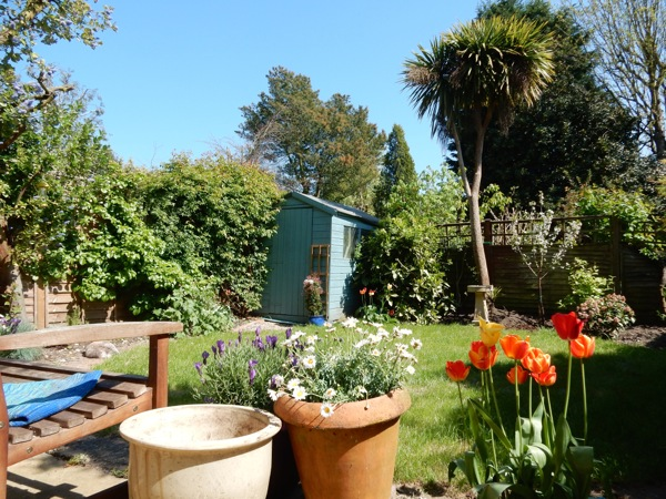 Springtime Chiswick garden