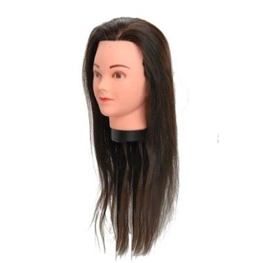 Cabeça de Treino com cabelos naturais R$ 239,00