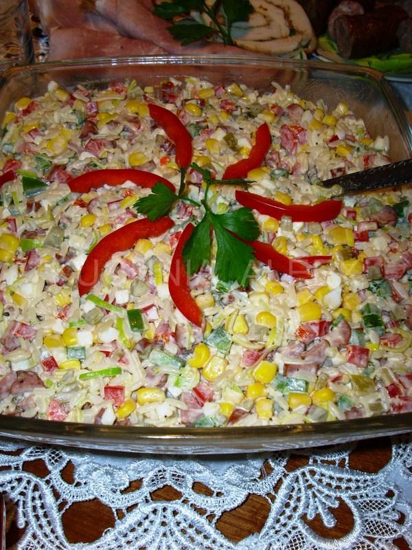 W Mojej Kuchni Blog Roku 2012 I Kolorowa Sałatka Z Ryżem Wg