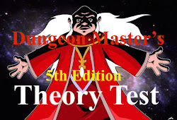 Take the Dungeon Master's Theory Test NOW!