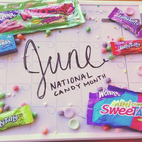 June is Candy Month