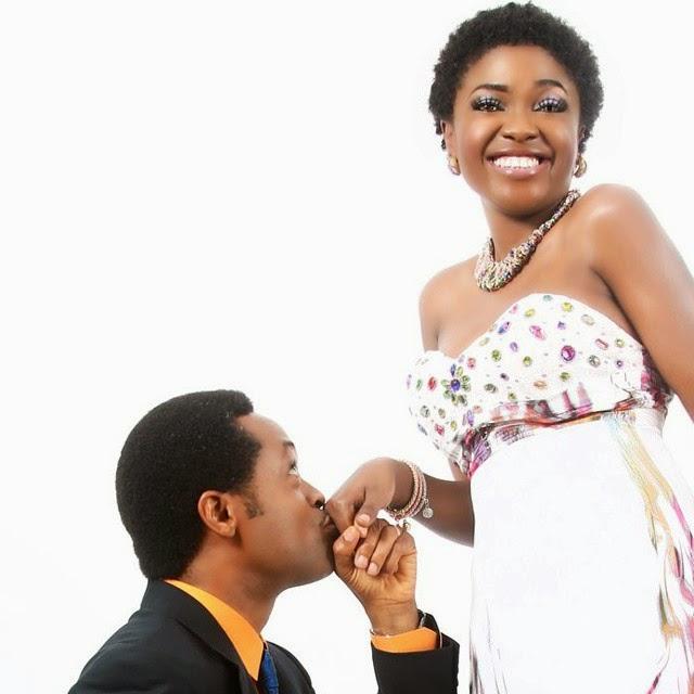 Actress Omoni Oboli and Husband Celebrates 14 Years Wedding Anniversary