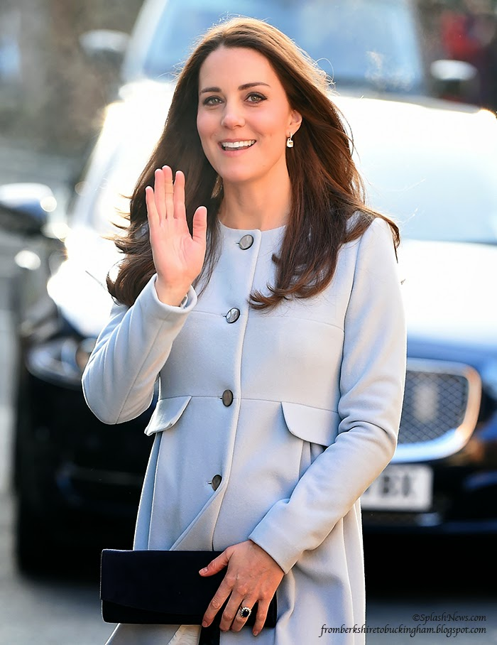 9069e0f4046 Séraphine Scores a Smash Hit as Kate Dazzles on Her Day in Kensington