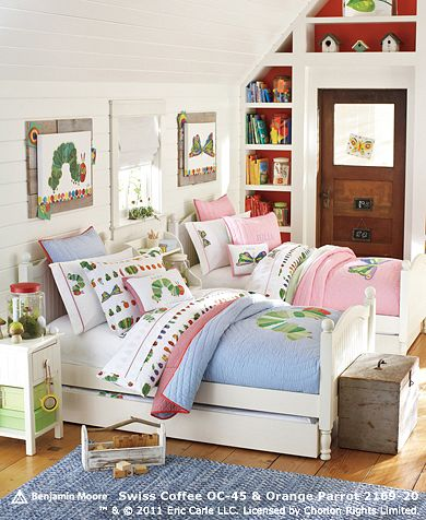 Petit sharing bedrooms for Brother and sister shared bedroom ideas