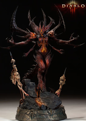 DIABLO 3 LIMITED EDITION STATUE DIABLO III
