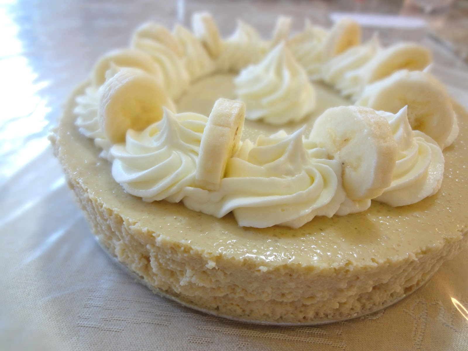 Blog as you Bake: Cheesecake Factory Banana Cream Cheesecake