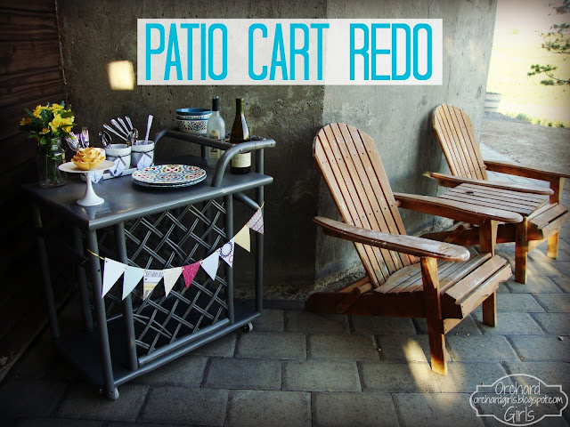 Patio Cart Redo - Part 1