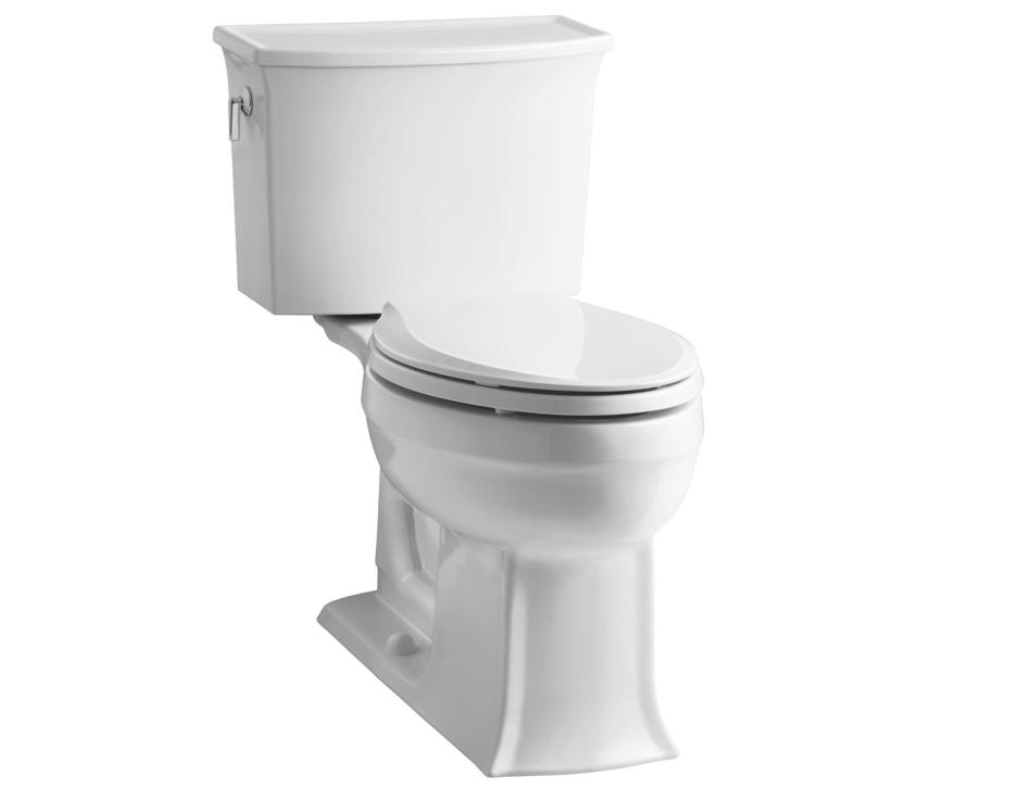 Kohler Toilets Reviews : Everything Toilets: Kohler Archer Comfort Height Toilet