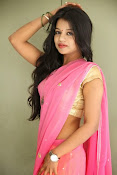Bhavya Sri Photos in Pink Halfsaree-thumbnail-16