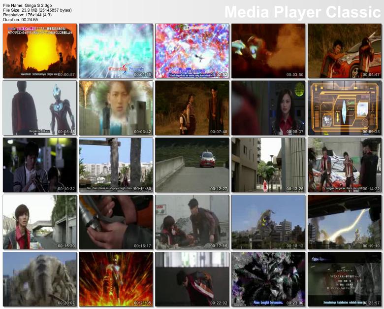 Contoh Screenshot menggunakan media Player Classic