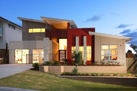 Ultra modern home designs home designs time honored modern bungalow designs in india - Home design elements ...